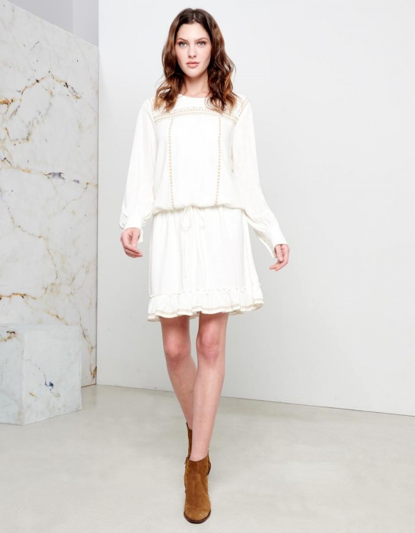 Robe Doris - WHITE