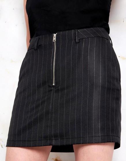 Skirt Joe Fancy - BLACK SILVER