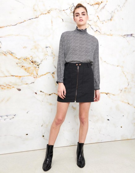 Skirt Jazon Fancy - GREY SHADOW