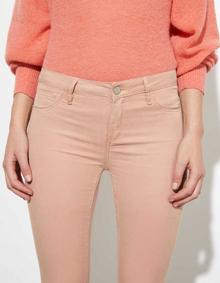 Trousers skinny cropped Lily Legging  - PINKSAND