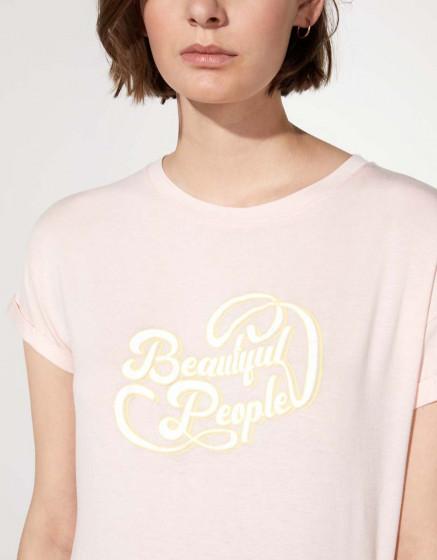 Tee-shirt Tam - BABY PINK
