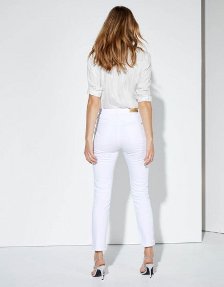 Jean mom Harlem - DNM WHITE