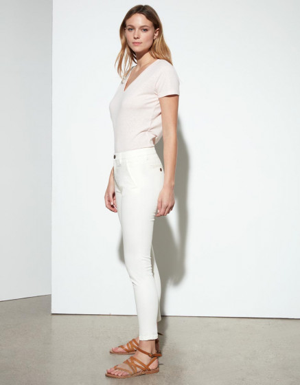 Chino cropped trousers Sandy - GINGER
