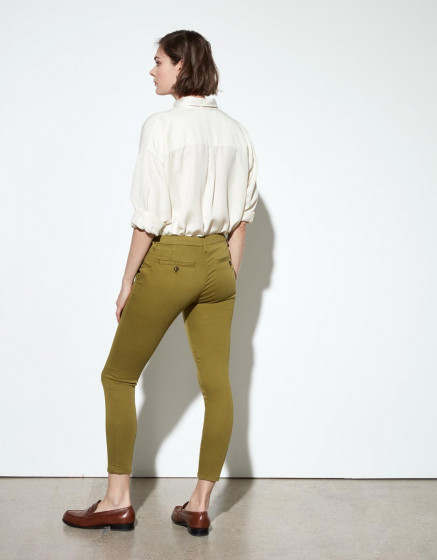 Pantalon chino Sandy Cropped - LIME TREE
