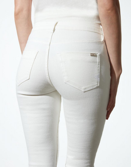 Jean highwaist Arnel Retro - DNM OFF WHITE
