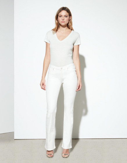 Flare jean Phoebe - DNM WHITE