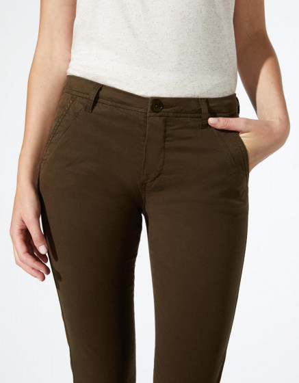 Pantalon chino Princy - DARK KAKI