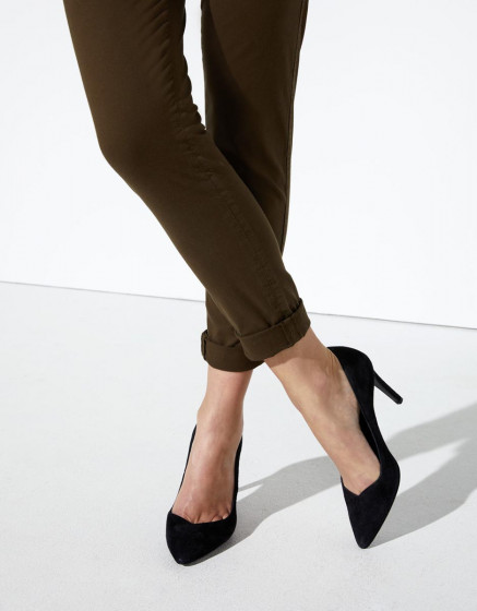 Chino trousers Princy - DARK KAKI