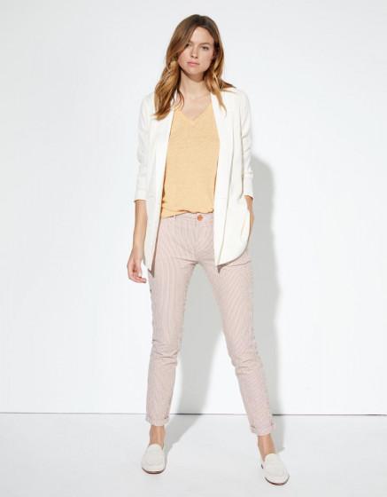 Chino trousers Sandy Fancy - ORANGE STRIPES