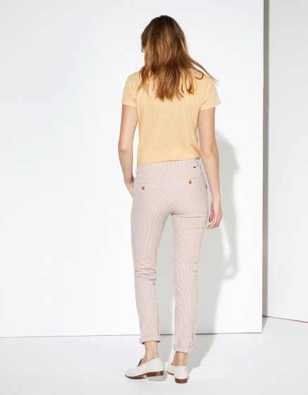 Chino trousers Sandy Fancy - ORANGE STRIPES