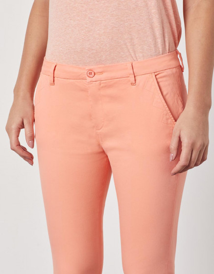 SANDY CROPPED - PEACH PINK