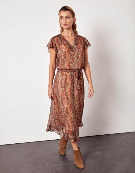 Robe Desinee - ORANGE FOLK