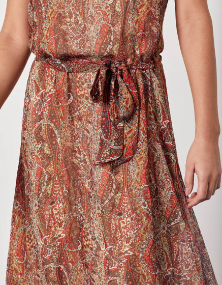 Dress Desinee - ORANGE FOLK