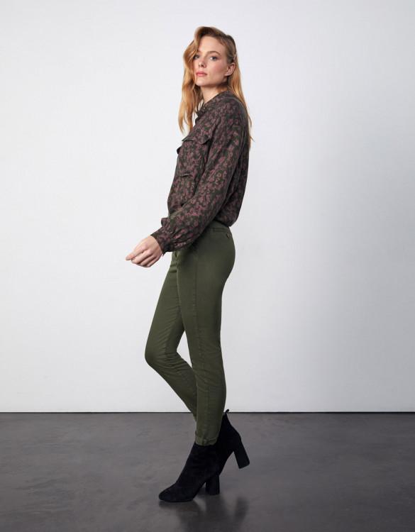 Chino trousers Sandy 2 Basic - DARK KAKI