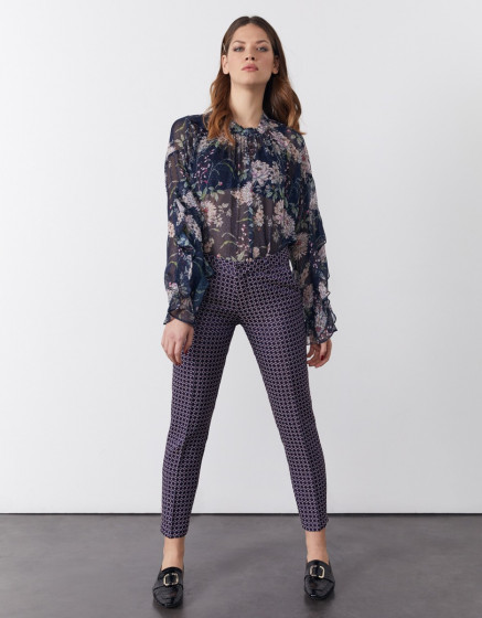 Pantalon cigarette Liv Fancy - ASTRAL CIRCLES