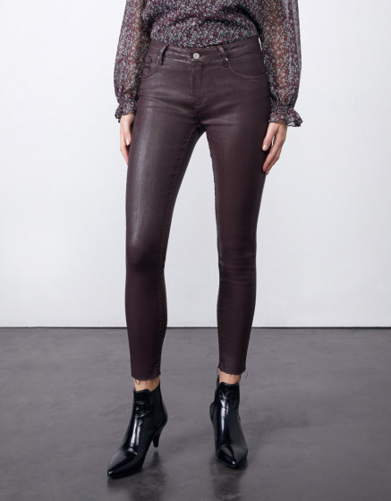 Jean skinny cropped Lily Enduction - LIEDEVIN