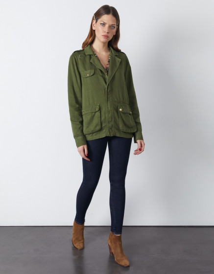 Jacket Lacey - KALE