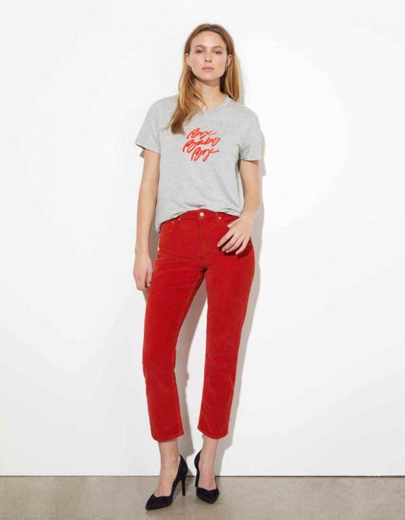 T-shirt Dabia - GRIS CHINE