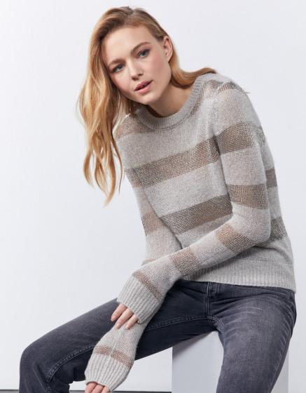 Knitwear Paolina - PEARL GREY