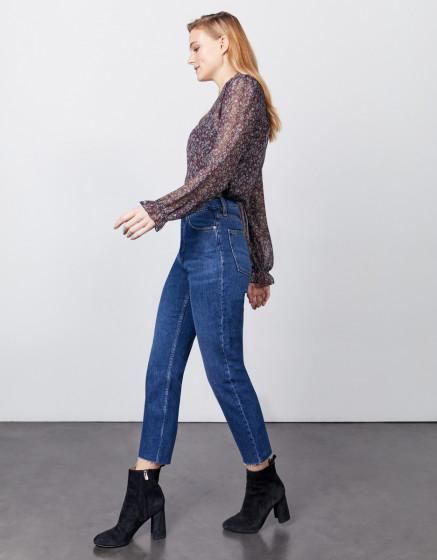 Jean high waist Milo - DNM V-230