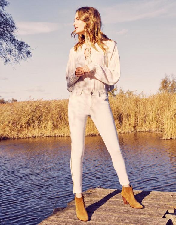 Skinny jean Lily Herring - DNM OFF WHITE