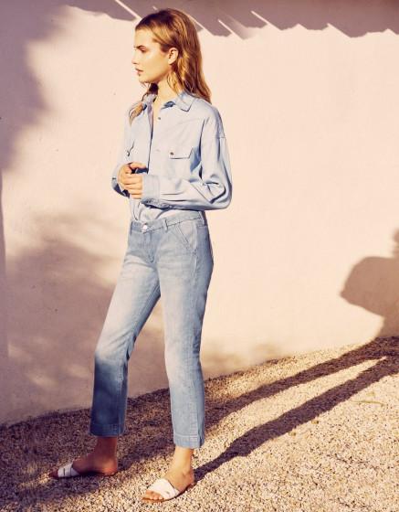 Jean straight Payton - DNM BLUE