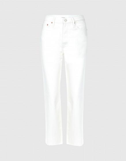 High waist jean Milo - DNM OFF WHITE