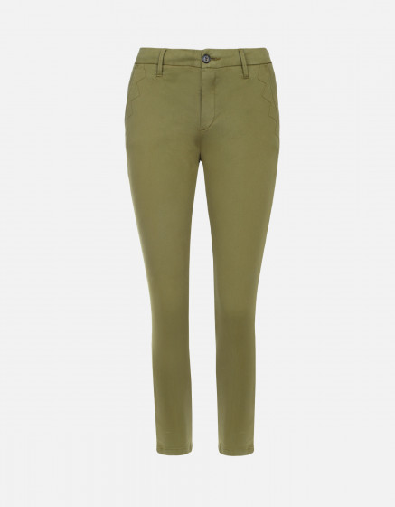 Chino Sandy Cropped - LIME TREE