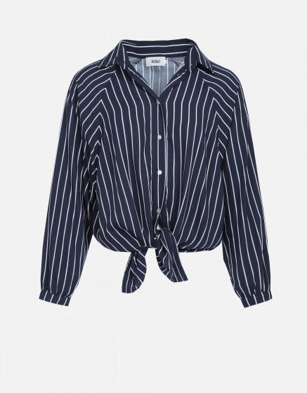 Shirt Begona - NAVY STRIPED