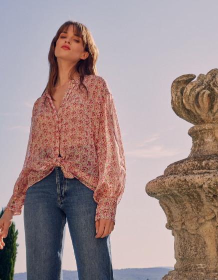 Shirt Brenda - ETHEREAL FLOWER
