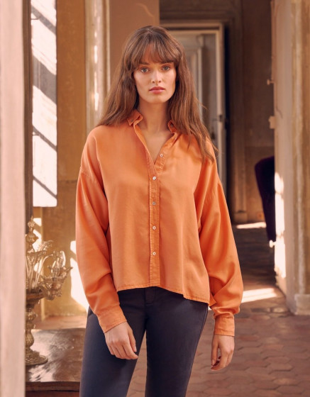 Chemise Bea Color - ORANGE CRUSH