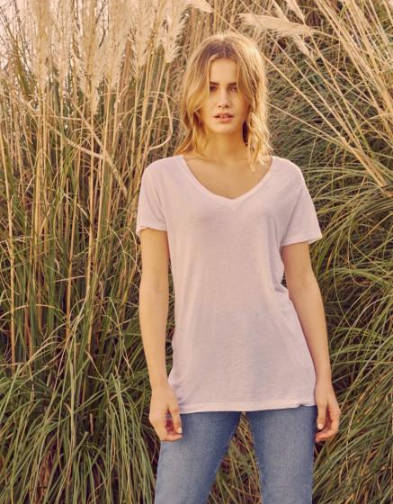 T-shirt Taco Linen - WHITE
