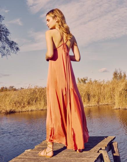 Robe Denise - FADED ROSE