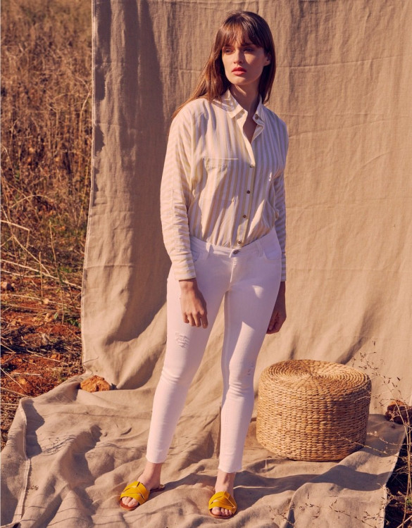 Skinny jean Lily - DNM WHITE