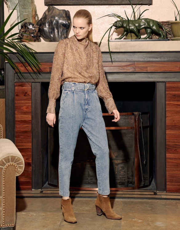 Cigarette high waist jeans Ava - DNM B-238