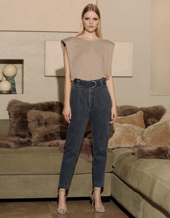 Cigarette high waist jeans Ava - DNM G-632