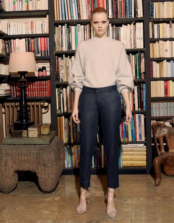 Cigarette trousers Liv Fancy - INDIGOSHINE