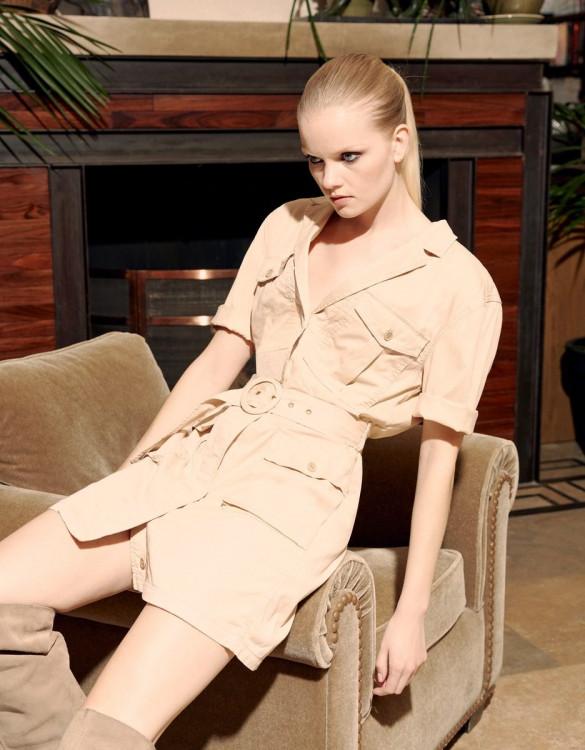 Dress Debbie Color - LIGHT SAND