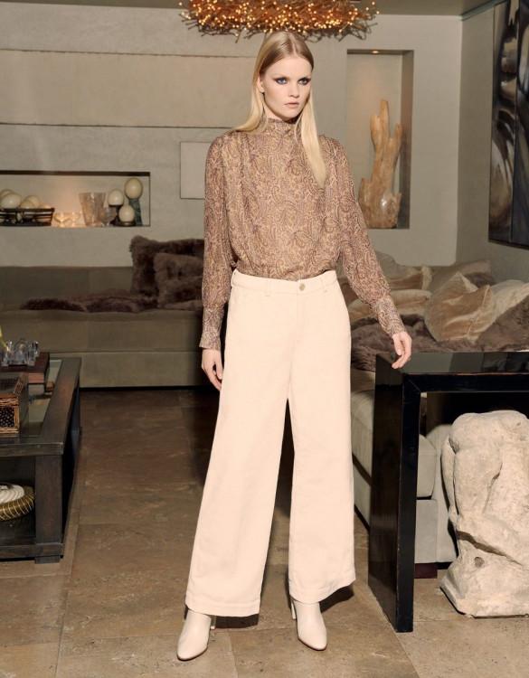 Pantalon wide Pilly Velvet - MILKSHAKE