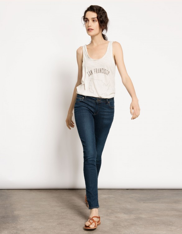 Tank top Debby - ANTIC WHITE