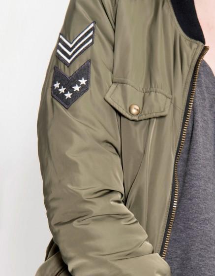 Bombers jacket Brandy - KAKI