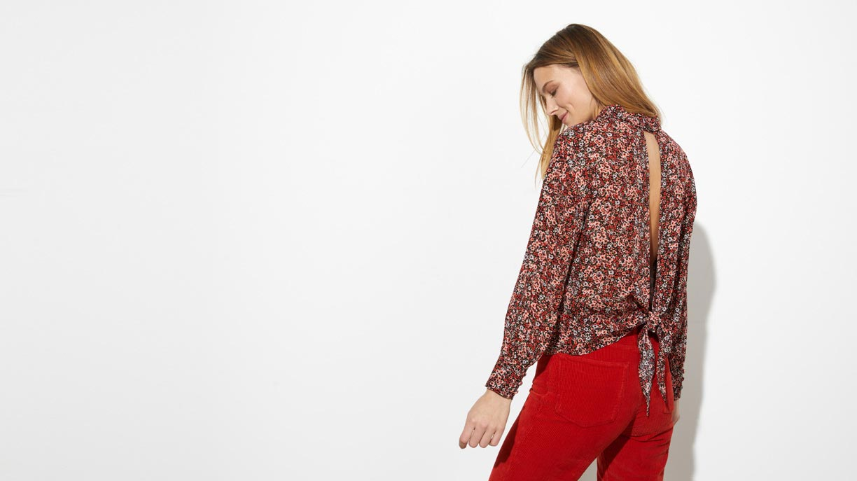 Blouse Berlin - REDFLOWER