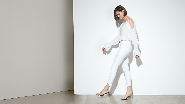 Cropped skinny jean Lily - DNM WHITE