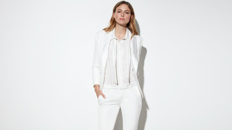 Blazer Beth - WHITE